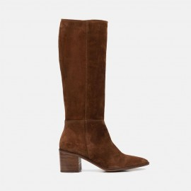 COWBOY VELOUR BOOT - CYNTIA